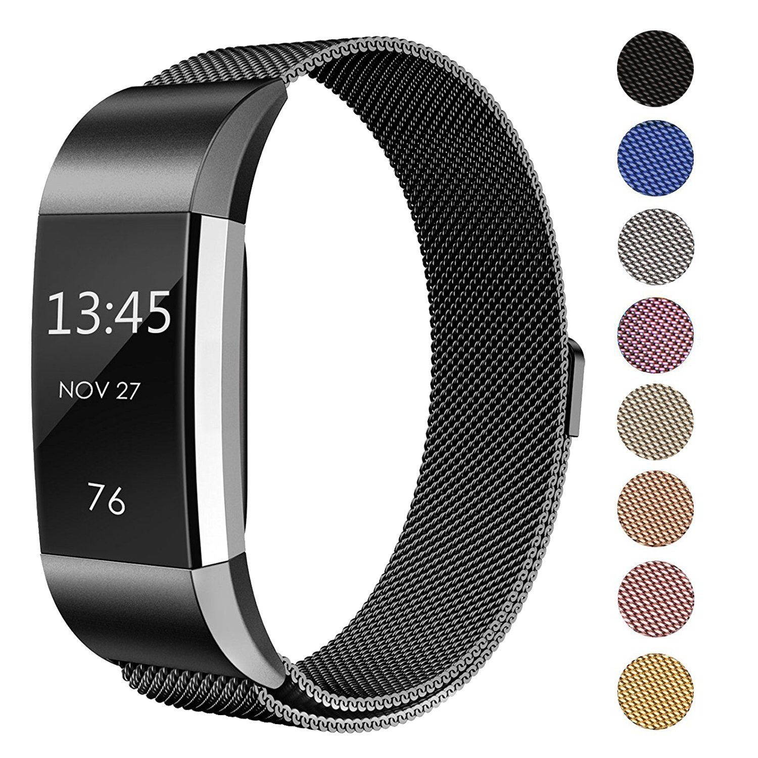 Like Doing Exercise You Re Going To Love This Stainless Steel Fitbit Charge Wristband