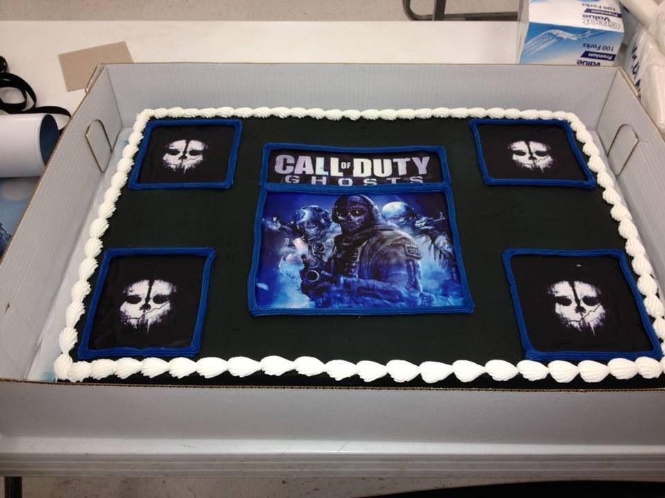 Call of Duty Ghosts CAKE from Walmart | Mvdhergx | Ghost cake, 80s
