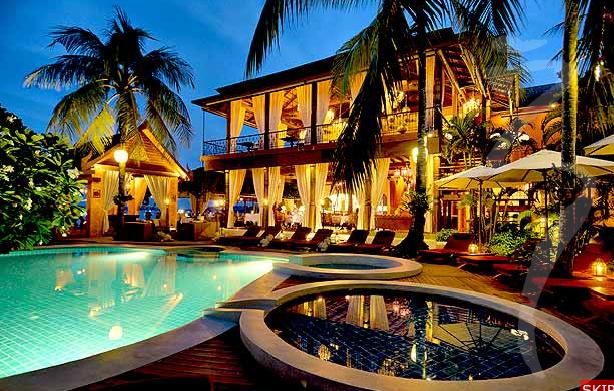 Zazen Boutique Resort Spa In Koh Samui Thailand