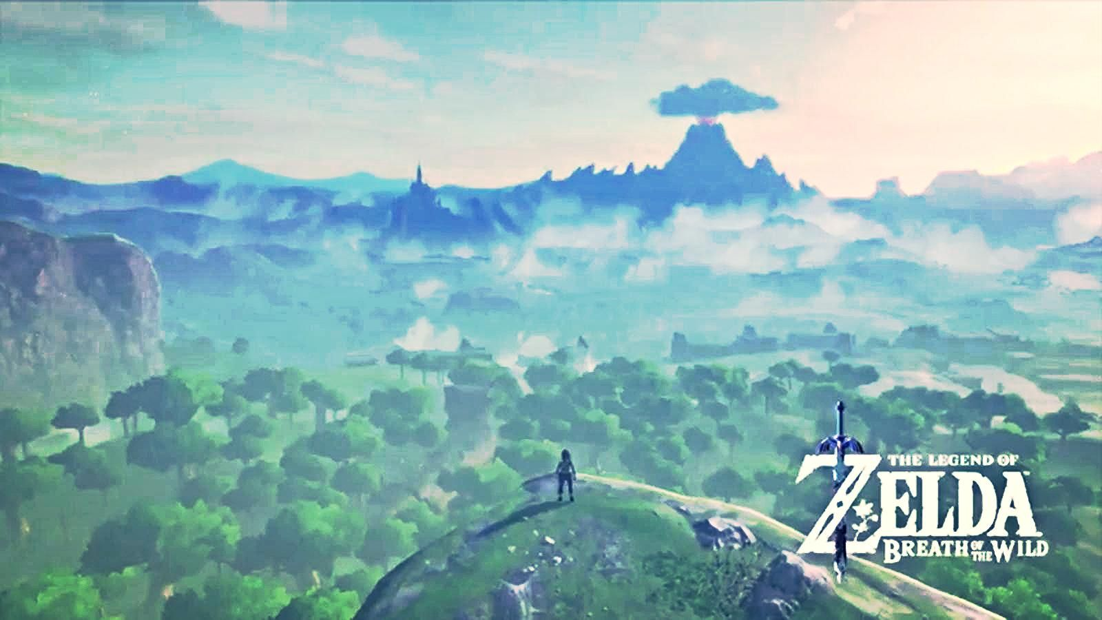The Legend Of Zelda Breath Of The Wild Hd Wallpaper 6 1600 X