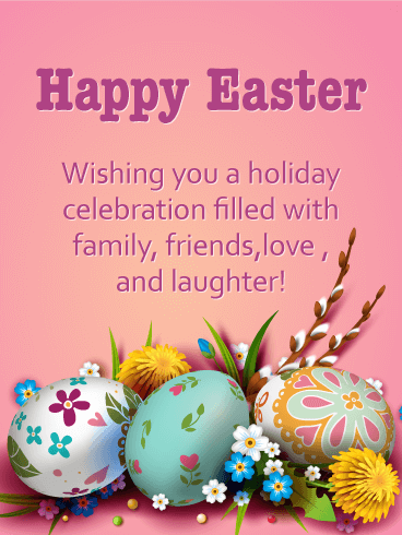 Enjoy Your Holiday! Happy Easter Card | Birthday & Greeting Cards by Davia  | Happy easter greetings, Happy easter wishes, Happy easter messages