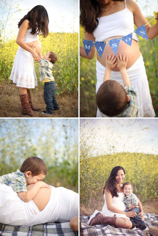 Sooo Sweet Mom And Son Maternity Session