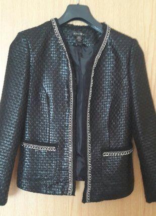 Kaufe meinen Artikel bei #Kleiderkreisel http://www.kleiderkreisel.de/damenmode/blazer-blazer/148554844-schwarzer-blazer-mit-silberdetails