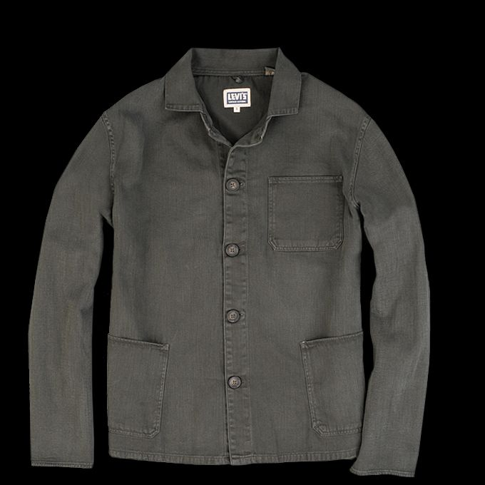 UNIONMADE - Levi's Vintage Clothing - Box Jacket in Faded Black ...