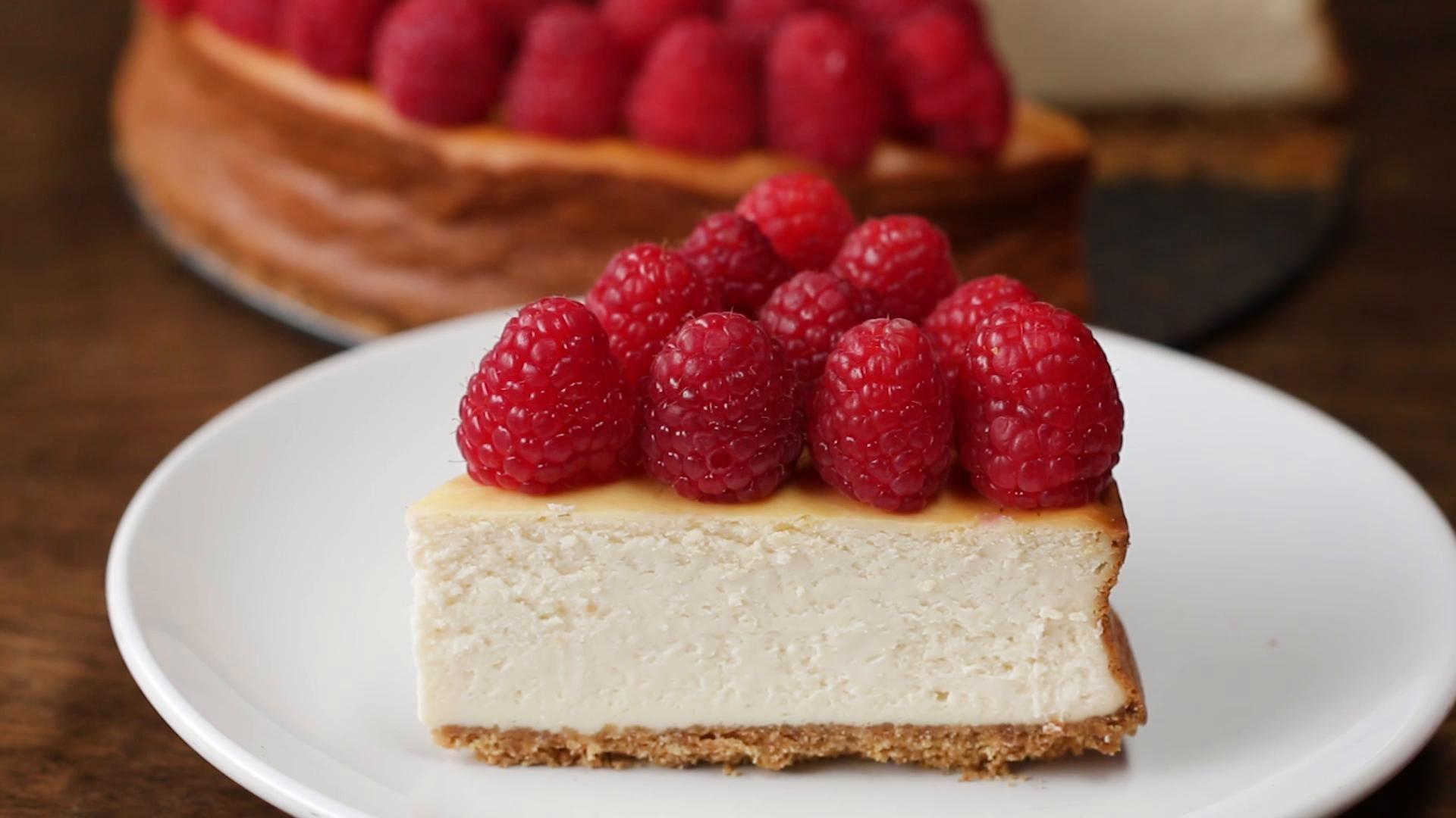 American Cheesecake Recipe By Tasty Recipe American Cheesecake Cheesecake Recipes Food