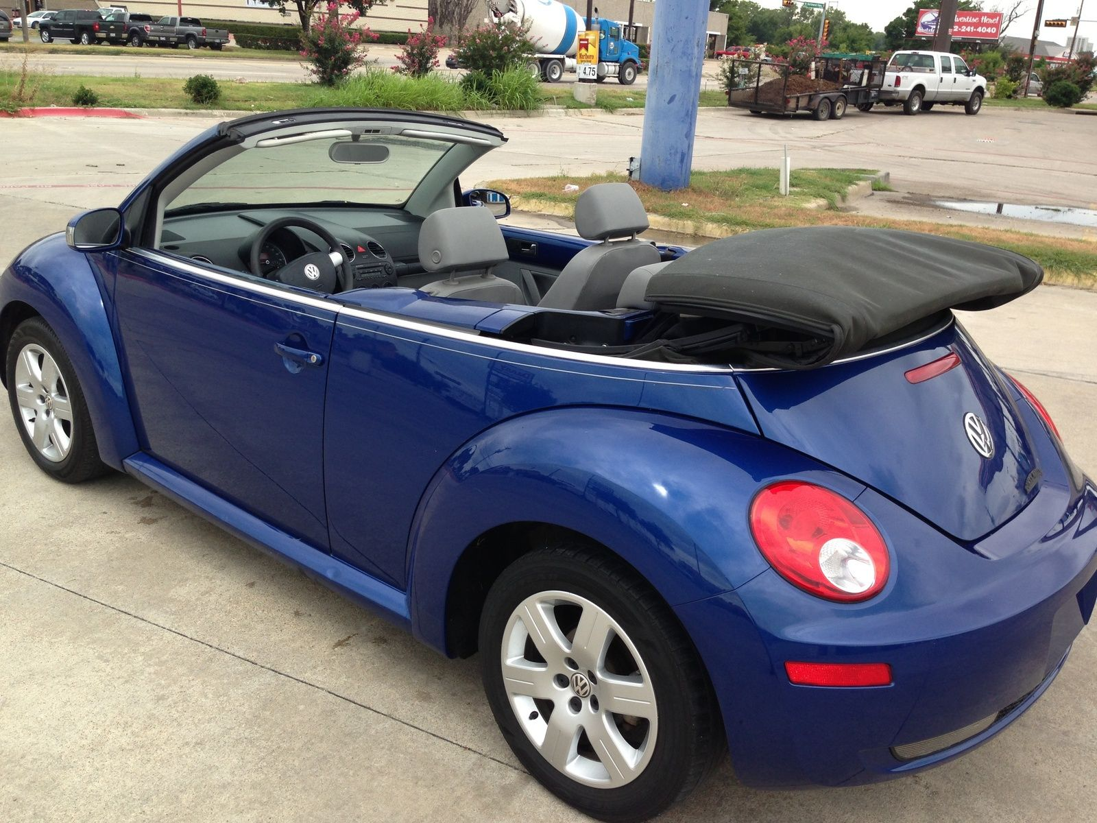 2007 Volkswagen Beetle Convertible Picture Of 2 5l Exterior