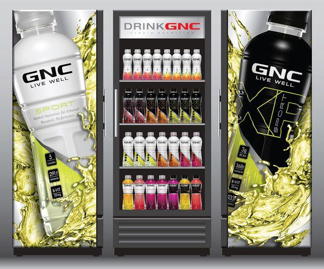 Gnc Beverages Functional Beverage Gnc Packaging Design