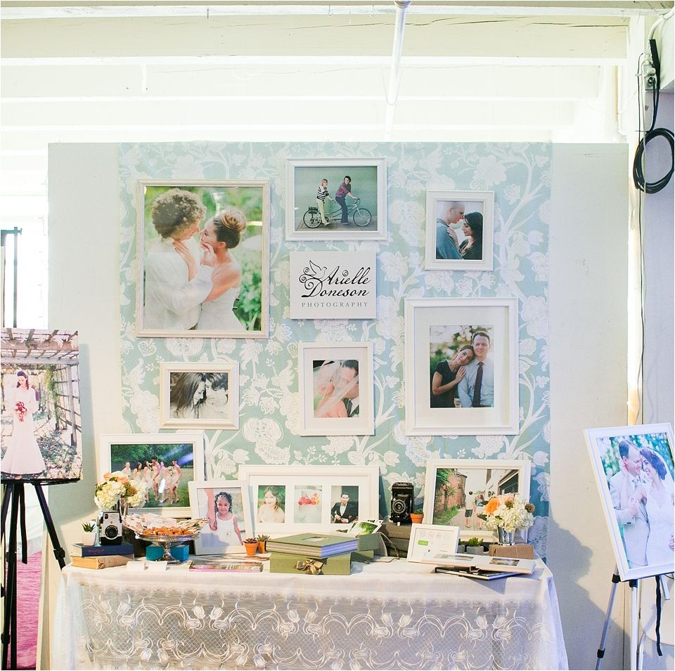bridal show layout idea