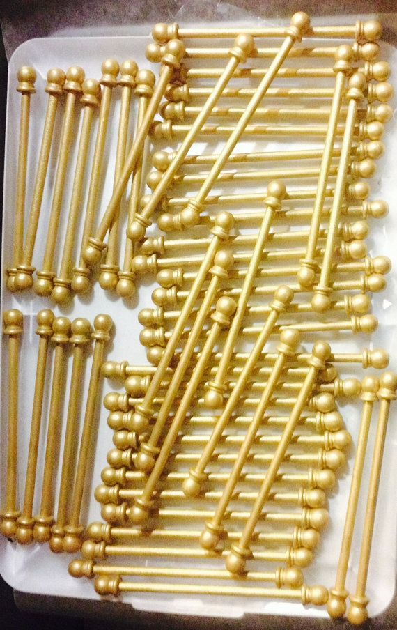 DIY Scroll Invitation Rods 24 Rods by KarlasGift on Etsy – Princess Scroll Birthday Invitations