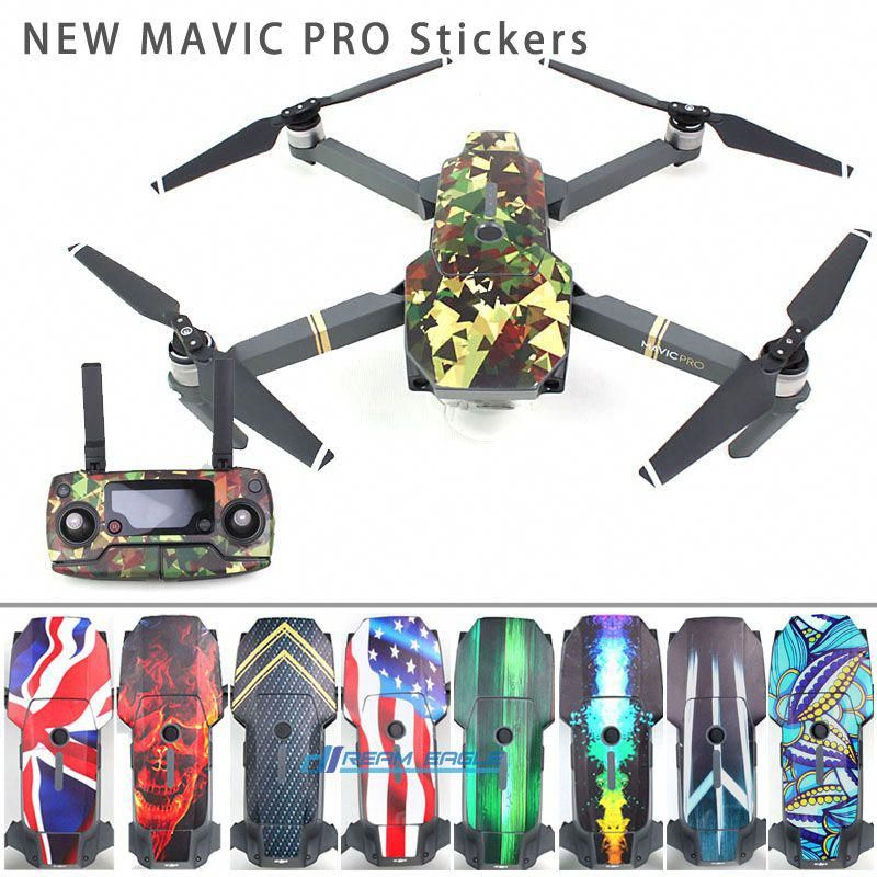 Find More Parts Accessories Information About Sunnylife 3m Stickers Waterproof Skin Decals Battery Remote Controller Stickers F Mavic Pro Dji Mavic Pro Mavic