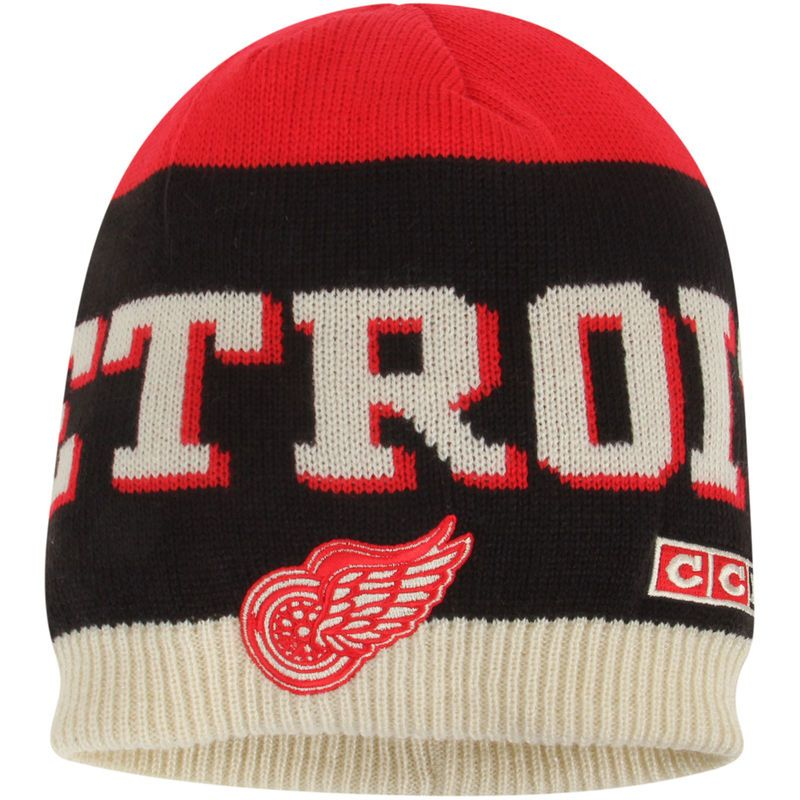 53dabfd1dd0 shopping air jordan 12 ovo all star knit hat detroit red wings ccm team  logo knit
