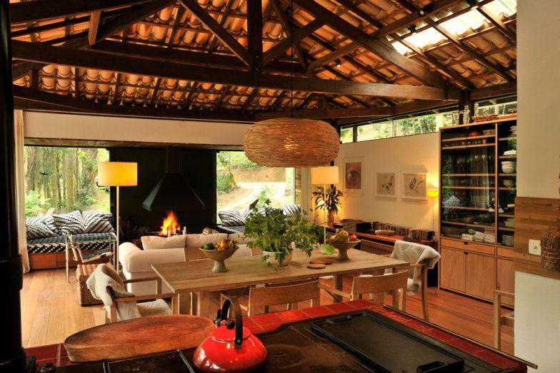 Casas de campo vencedores do pr mio casa claudia design - Interiores casa de campo ...