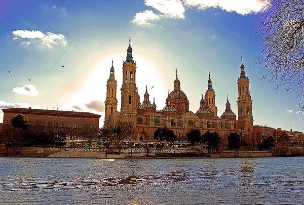 Basilica of Our Lady of the Pillar. Zaragoza, Aragon, Spain. Baroque.