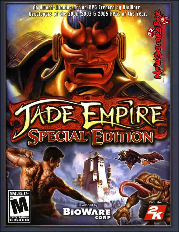 Jade Empire: Special Edition PC Game Free Download Full
