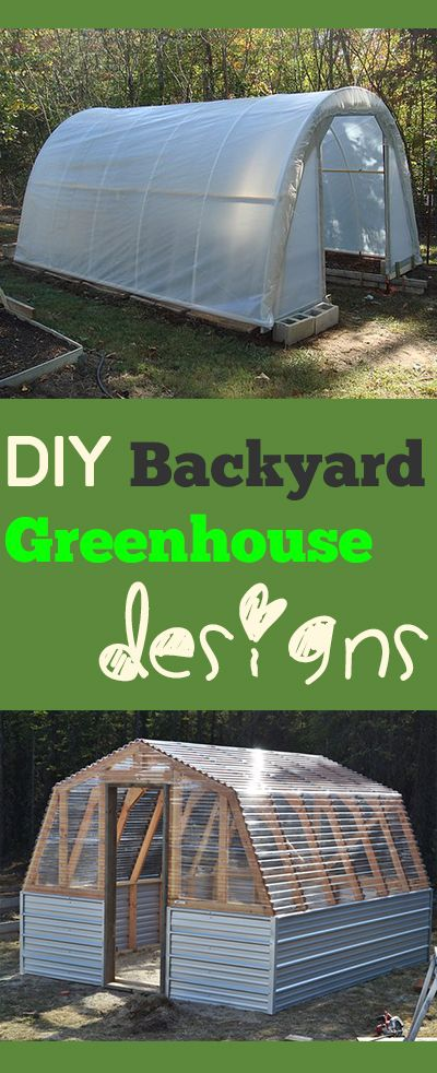 How to Build a Greenhouse Backyard, Tutorials and Gardens