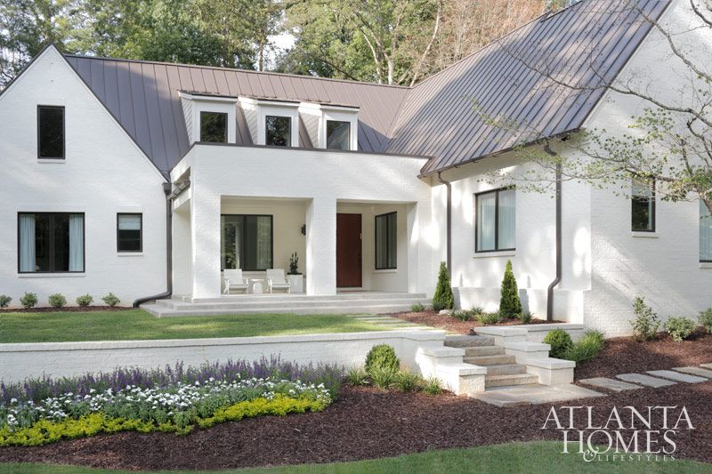 16 Wicked Transitional Exterior Designs Of Homes You 39 Ll Love Brick Exteriors Benjamin Moore