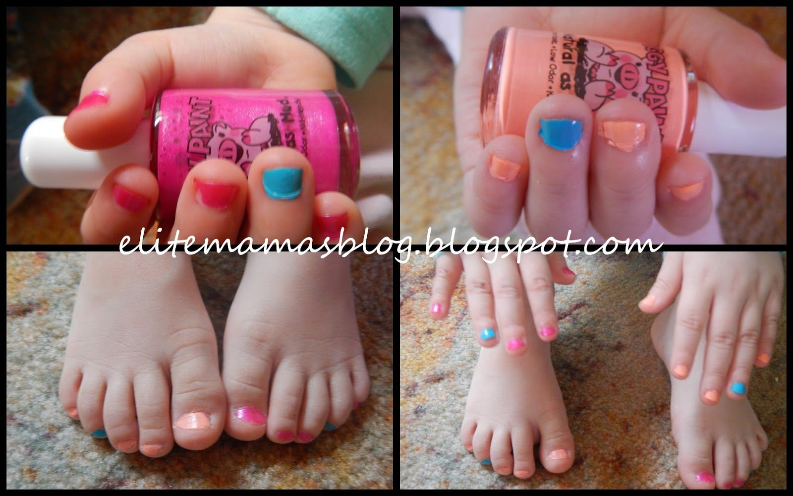 Piggy Paint - Non-Toxic Nail Polish for Kids   Reviews   Pinterest