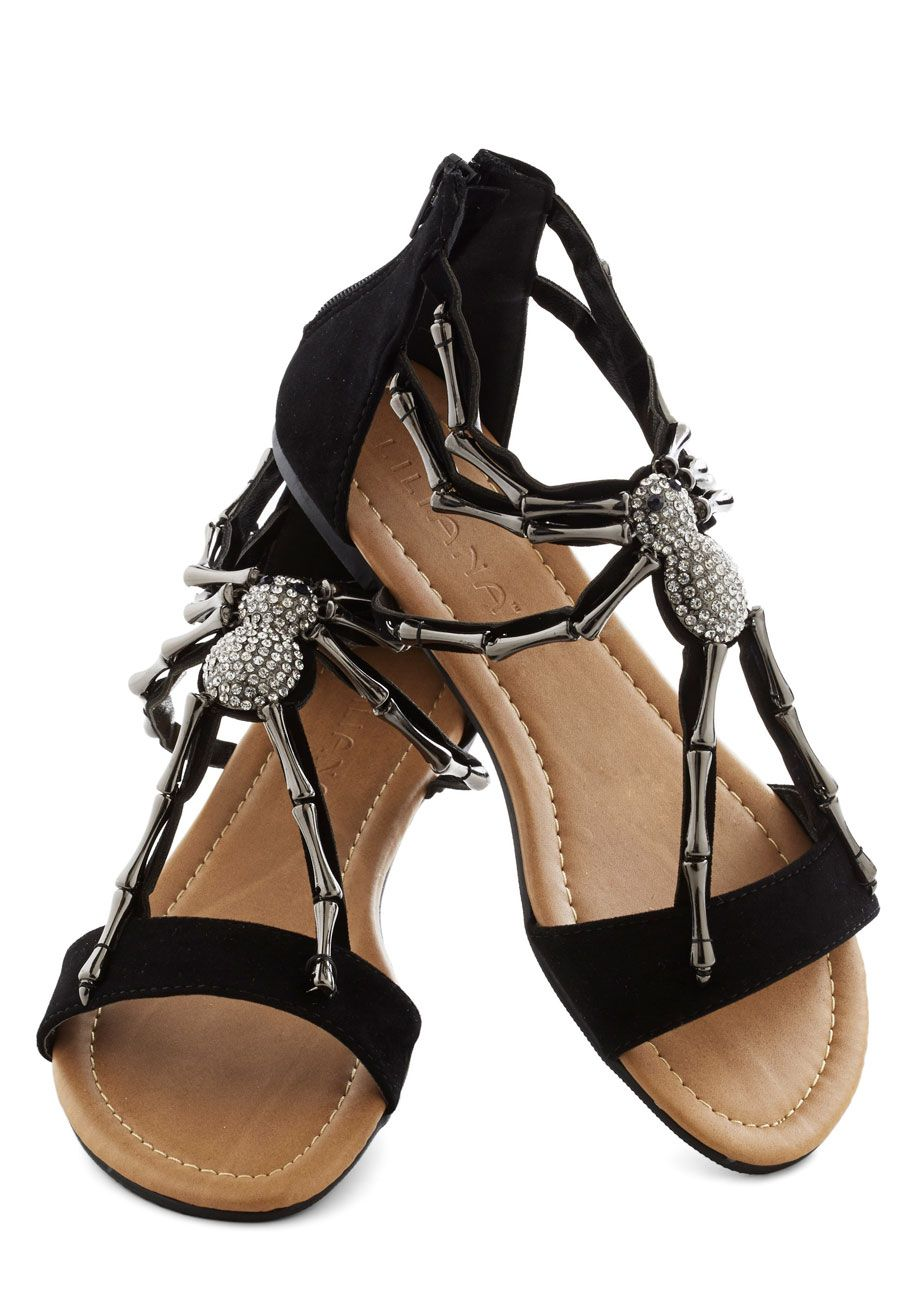 We Arachnid to Talk Sandal in Black