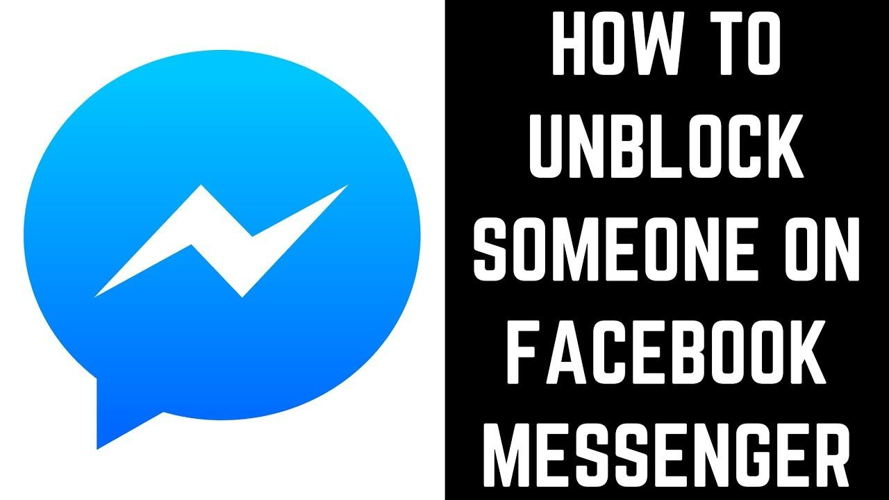 How To Unblock Someone On Facebook Messenger How To Use Facebook Facebook Messenger Facebook Print