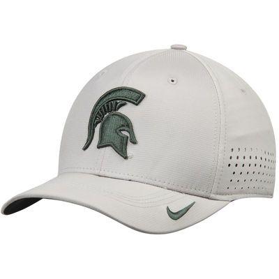 Michigan State Spartans Nike Sideline Vapor Coaches Performance Flex Hat -  Gray 20364db29a7c