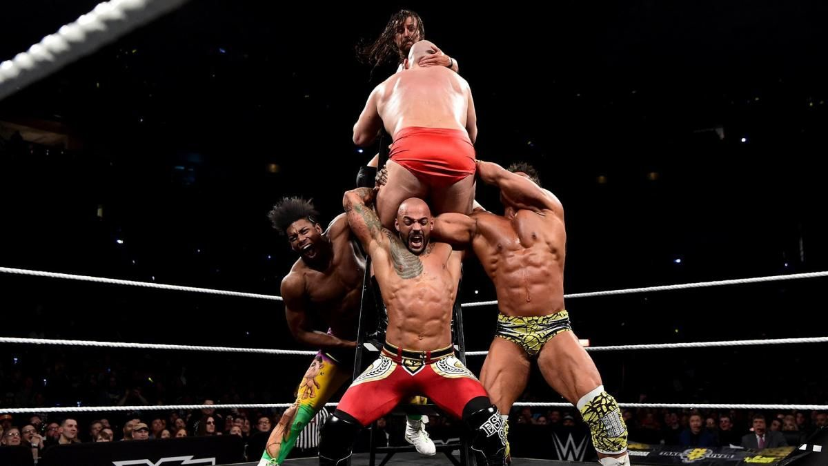NXT TakeOver: New Orleans: NXT North American Championship Six-Man Ladder Match | Sixth man, North american, American