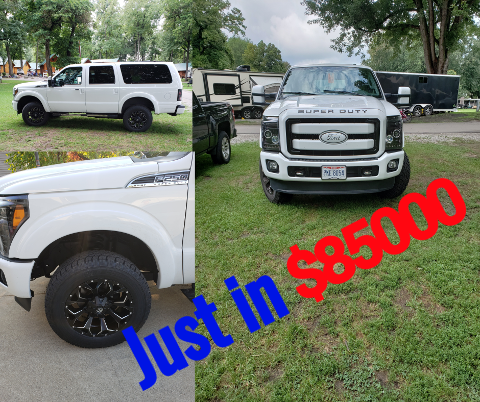It S Not Just The Ground Clearance And The Beefy Suspension Systems That Make Suvs Better Off Road Than Cars It S Al Ford Excursion Cars Near Me Modified Cars
