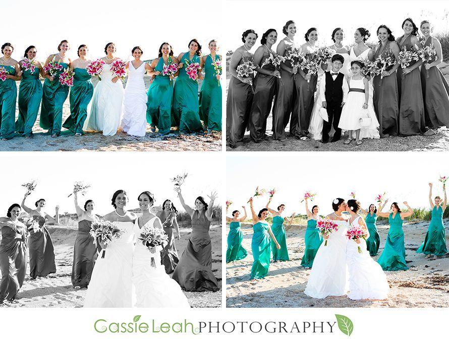 Lesbian Wedding Party