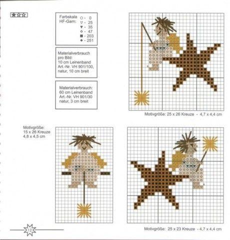 Схемы вышивок в разных техниках - запись пользователя ...