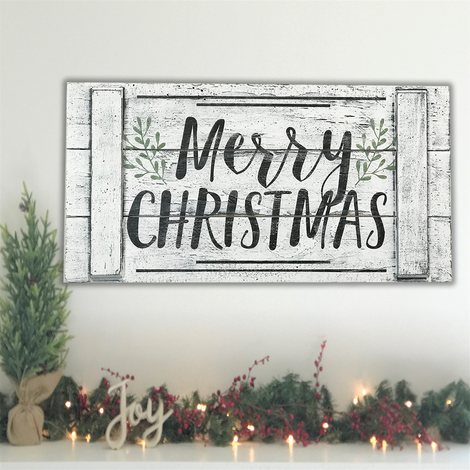 Merry Christmas Wood Pallet Style Sign Christmas Wall Decor Farmhouse Christmas Vintage Christmas Christmas Signs Wood Christmas Wood Christmas Wall Decor