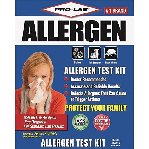 The Pro Lab Allergen Test Kit Is A Doctor Recommended Method To Easily And Inexpensively Detect The Four Most Common In Pet Dander Allergens Doctor Recommended