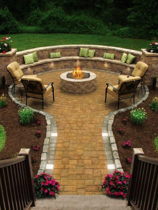 Pin By Amanda Behm Real Estate Digi On Outdoor Fireplace