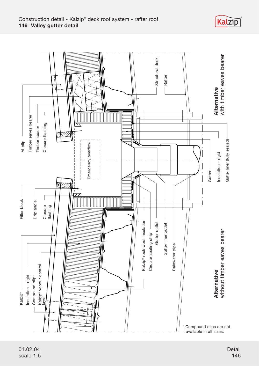 Kalzip Construction Details Archiexpo Roof Construction Roof