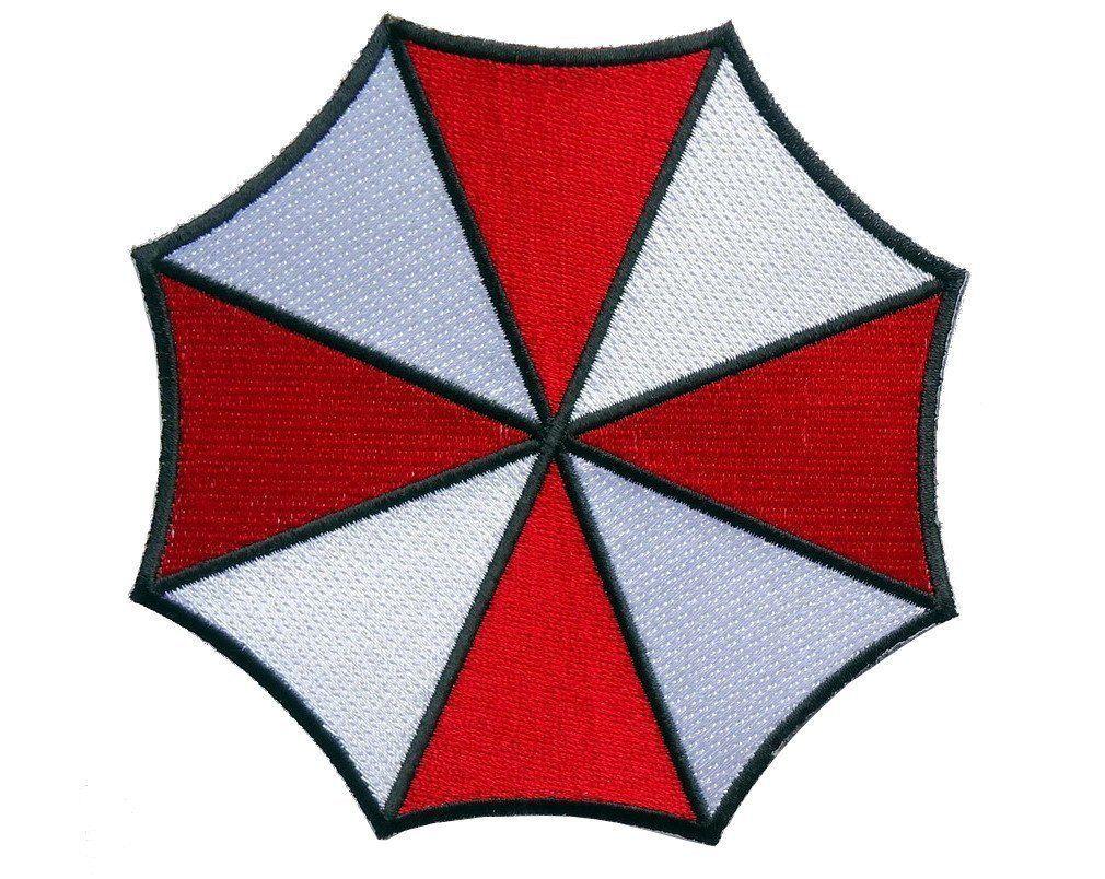 Velc Resident Evil Umbrella Corporation Logo Iron On Patch 35