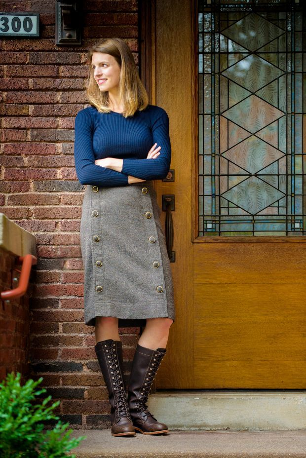 Allison Gettings wearing new Red Wing Lady's Boots | Red Wing ...