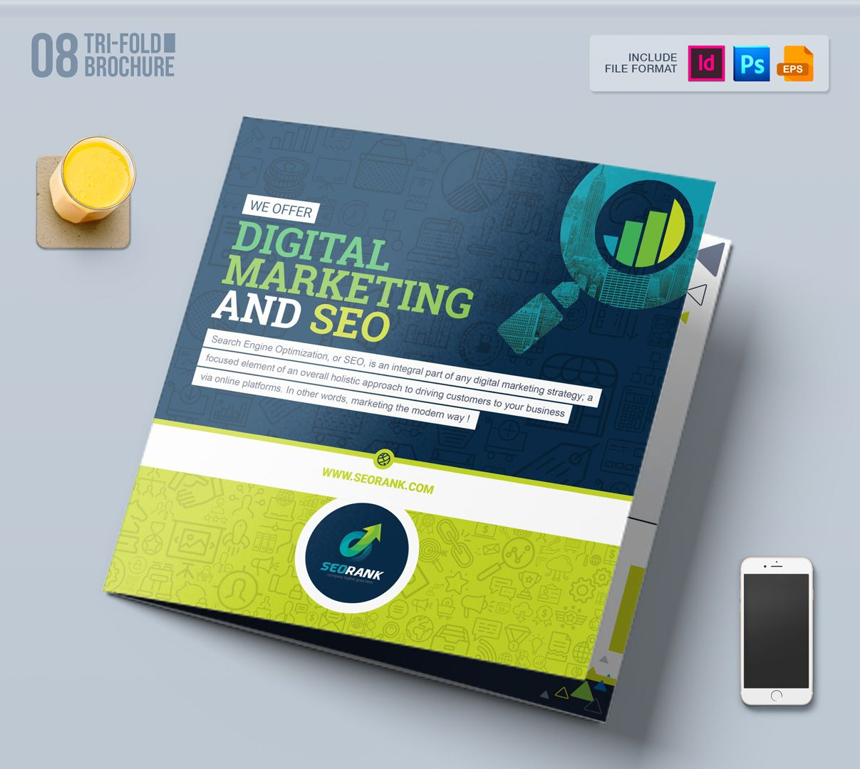 Branding Stationery Bundle For Seo And Digital Marketing Agency Or Company Corporate Identity Template 66283 Stationery Branding Digital Marketing Agency Digital Marketing