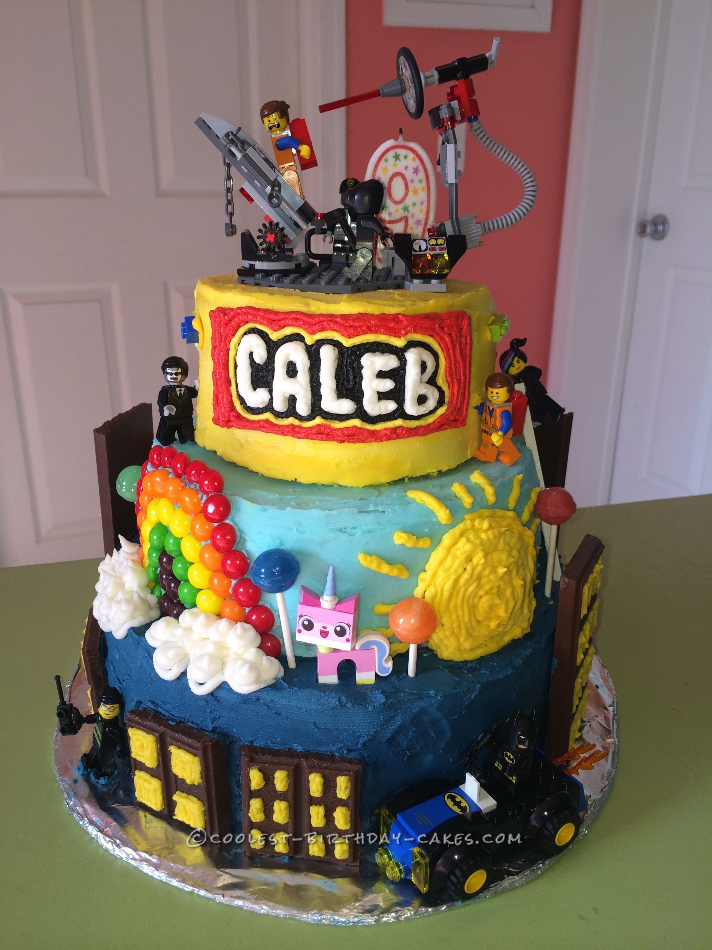 Coolest Lego Movie Cake In