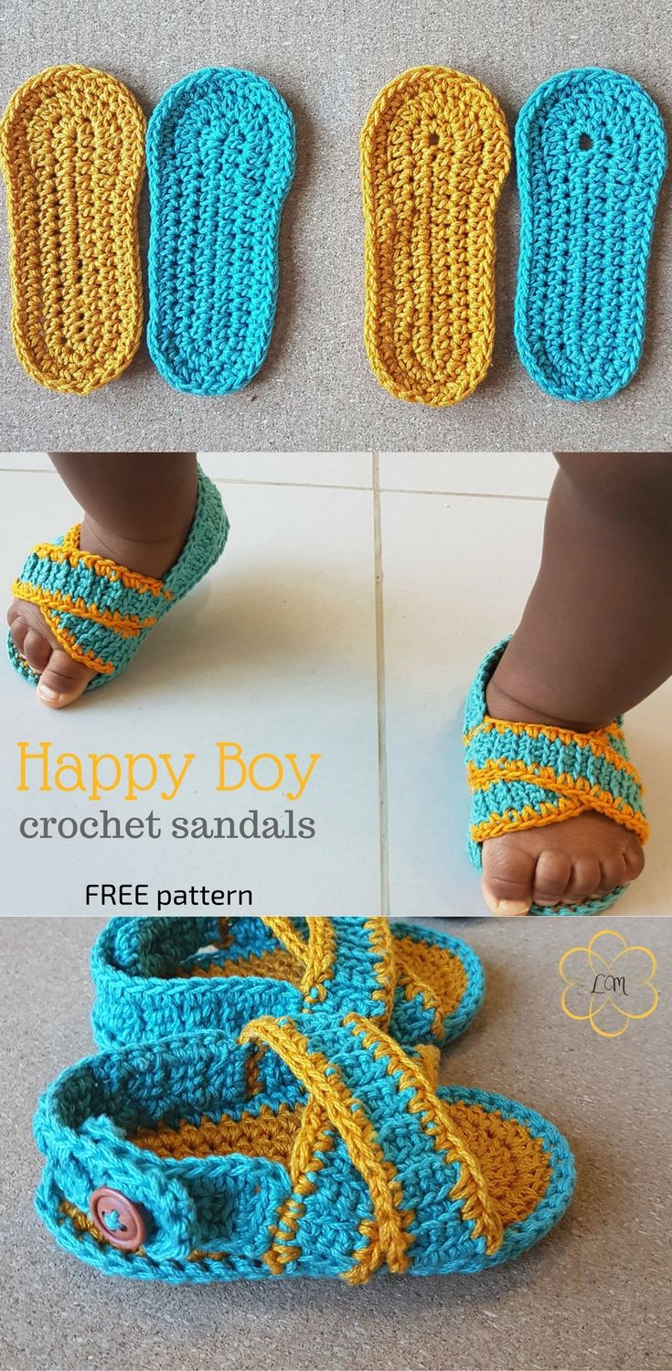fe1709ad9 Easy crochet sandals