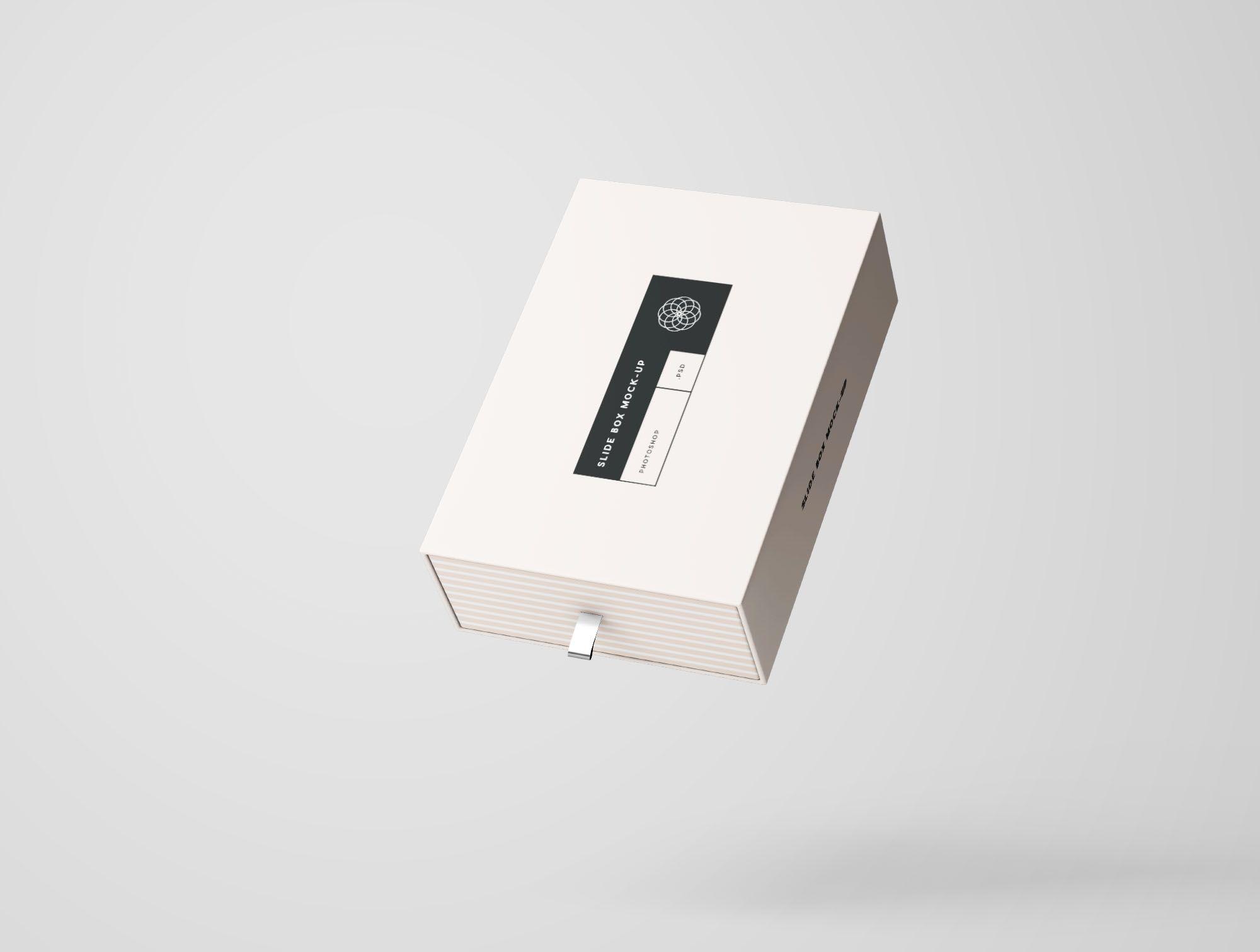 Download Rectangle Slide Box Mockup Slide Box Box Mockup Mockup