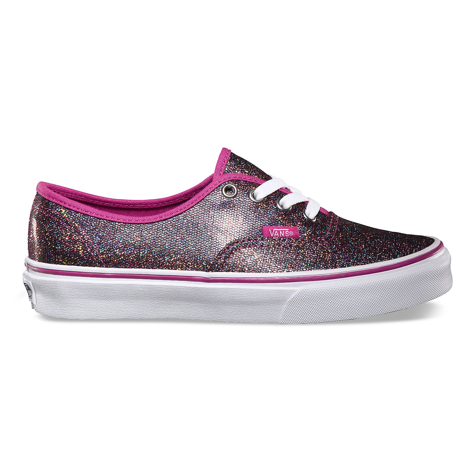 9871e1dd75 Vans Iridescent Glitter Authentic - women s
