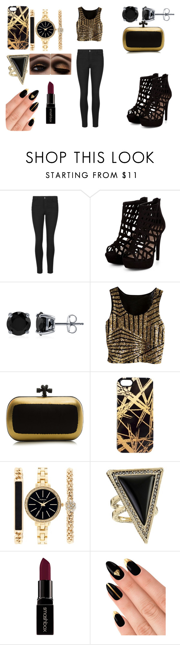 """""""fun"""" by mojomoleen ❤ liked on Polyvore featuring Indigo Collection, BERRICLE, Bottega Veneta, Khristian A. Howell, Style & Co., House of Harlow 1960, Smashbox and House of Holland"""