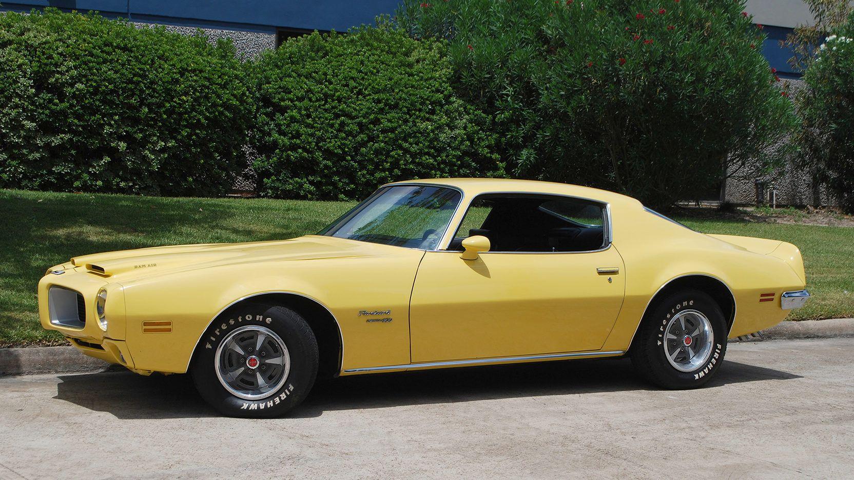 1970 Pontiac Firebird Formula presented as Lot F57 at Houston, TX ...