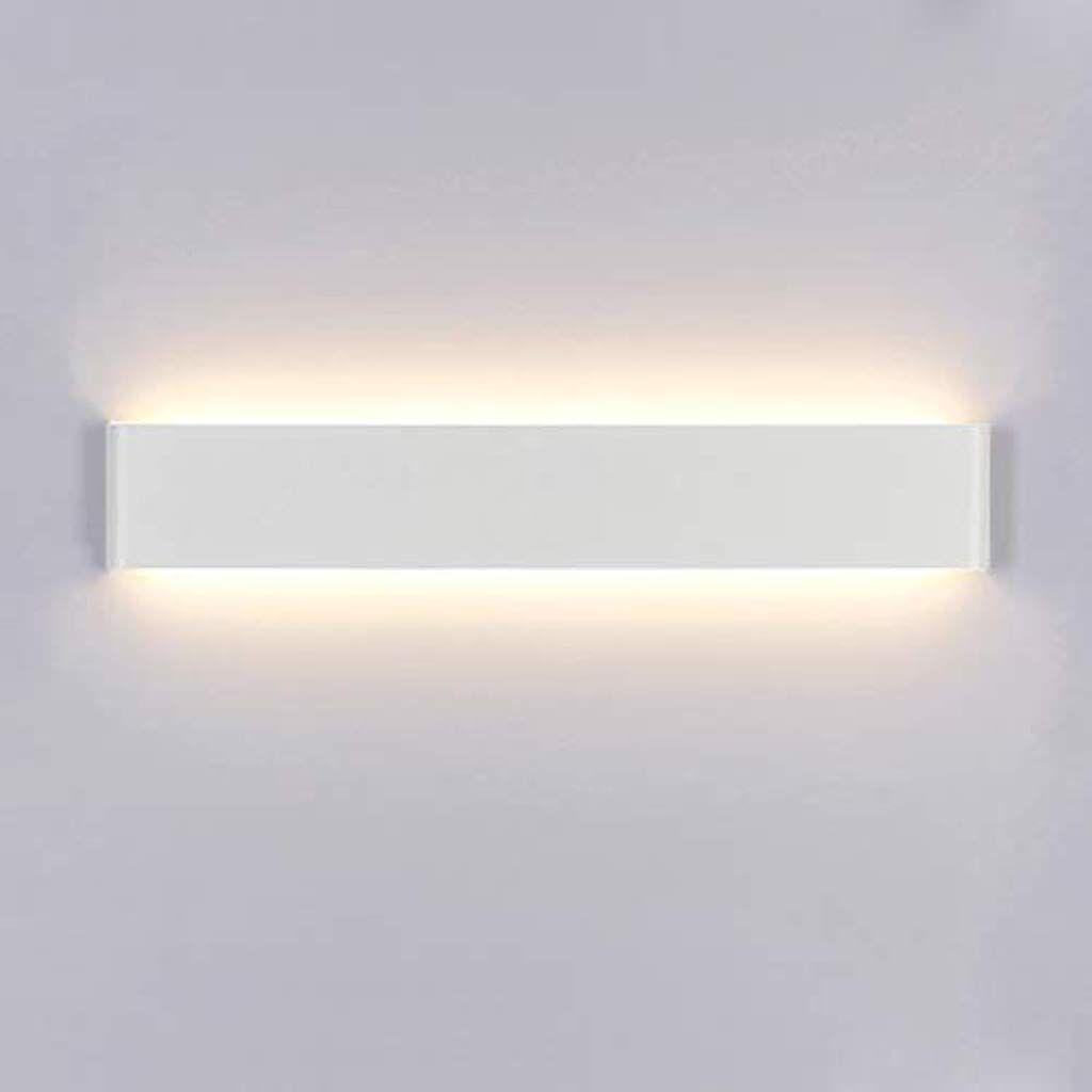 Illuminazione Bagno A Parete yafido applique da parete interno moderno led 60cm lampada