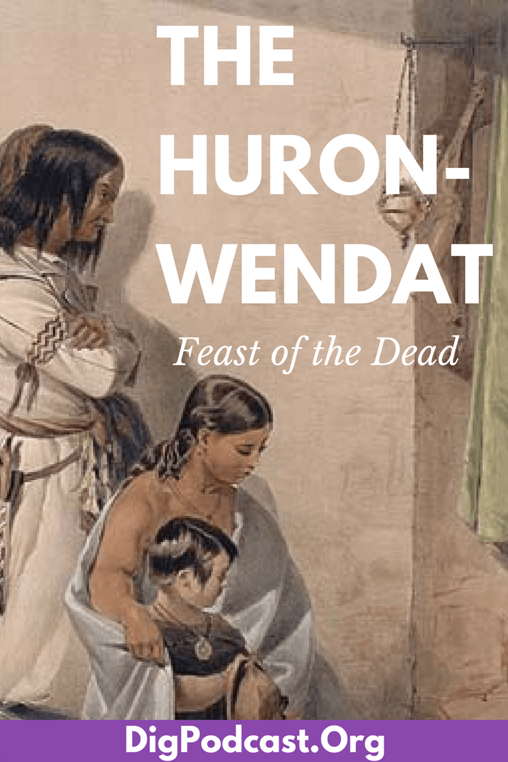 Huronwendat feast of the dead death religion and euronative