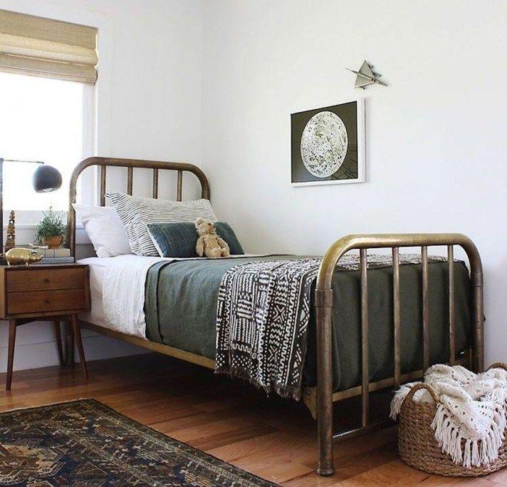 46 Modern Farmhouse Style Bedroom Decor Ideas #modernfarmhousestyle