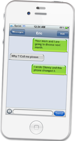 Ifaketext Com The First Iphone Text Message Screenshot Generator Iphone Texts Text Messages Poetry Activities
