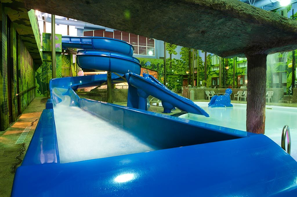 For The Thrill Seekers Two Playground Style Slides As Well As Our