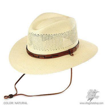 Stetson Airway Panama Straw Hat  c3c3e73c4428