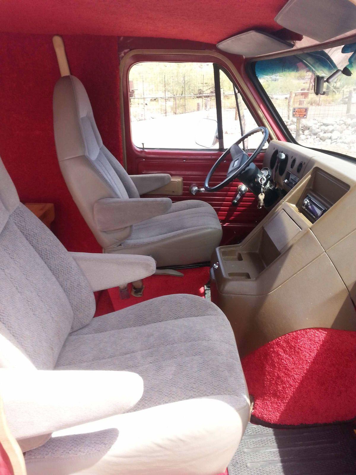 1982 Chevrolet G20 Van Custom Van Interior Gmc Vans Custom Vans