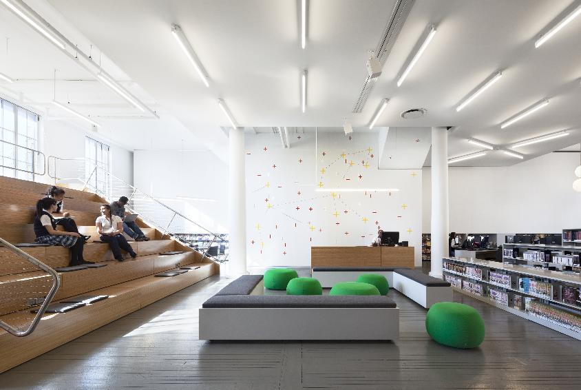 Designing Libraries That Encourage Teens To Loiter Interior Design School Interior Design Awards Library Design