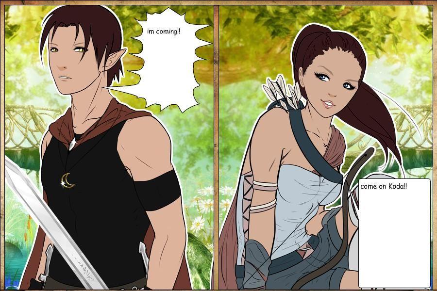 Koda and Zamira by ~finfin12 on deviantART